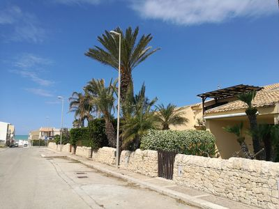 Photo for Villetta area MONTALBANO 100 M free beach. Residential area