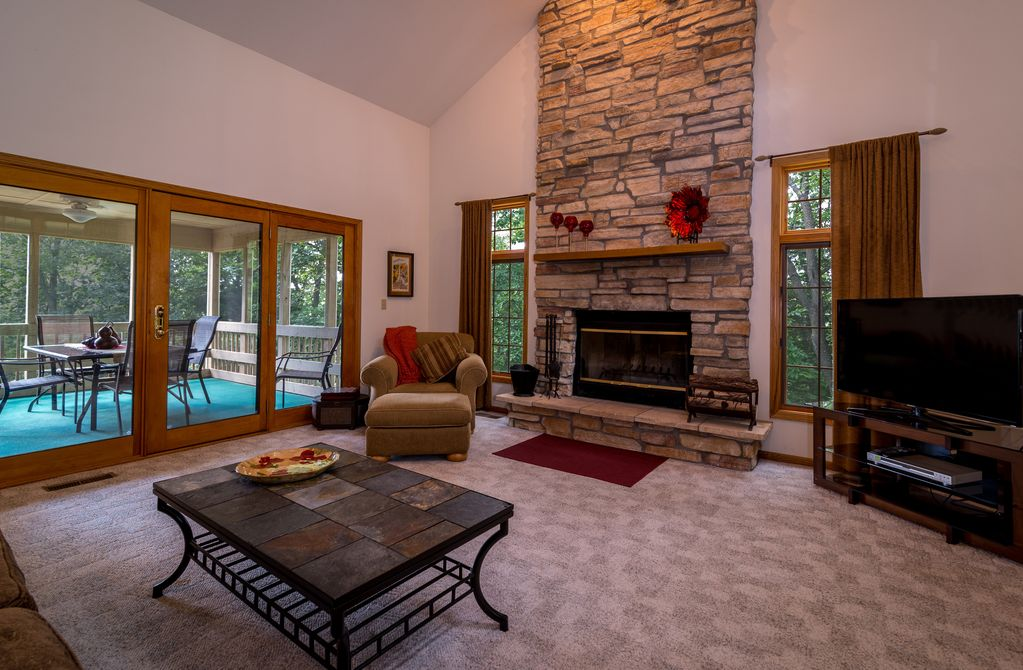 Fireplace Design the fireplace dc : Perfect Family or Friend Retreat w/Hot Tub,... - VRBO