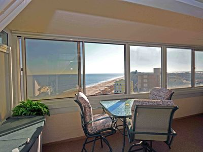 Photo for Charming 2 Bedroom Oceanfront Condo with Free WiFi and an Outdoor Pool Located in Midtown Only Steps to Beach!