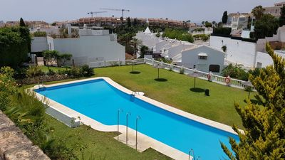 Photo for Nice and fresh townhouse in a lung area near the beach and golf course.