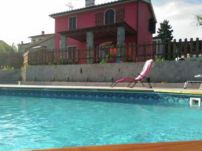 Photo for Modern villa with private pool and fenced garden 17 km from Lucca