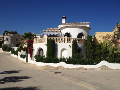 Photo for Villa on two levels in the urbanization 'Cumbre del Sol', magnificent sea view