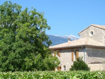Photo for Traditional Provencal gite, offering quietness and serenity