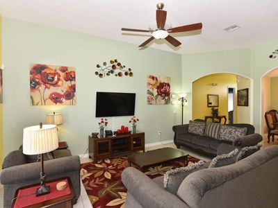 Photo for 5 Bedroom 4 Bath Pool Home in Watersong Resort. 318YSD