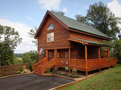 Photo for New Luxury 4 BR-5 BA Cabin**Zip-Line**5 Min.to Pigeon Forge**Views**