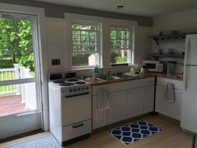 Photo for Osterville Cottage- walk to village, pond/beach, nearby Boat Ramp, beach pass