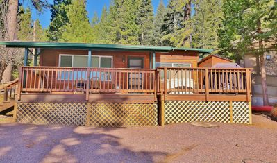 Photo for Cozy & Cute Studio Cabin, Pet Friendly with Large Deck On The Lakeshore