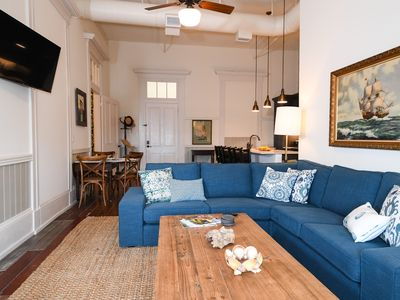 Photo for Amazing 2Br Historical Loft Downtown on Strand Street with Harbor Views!