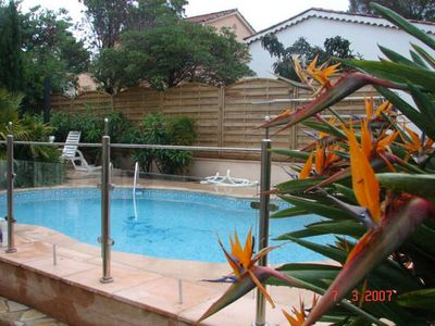 Photo for Villa with pool 600 meters from the sea and creeks