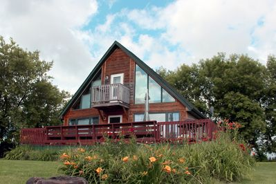 2 bedroom secluded chalet.