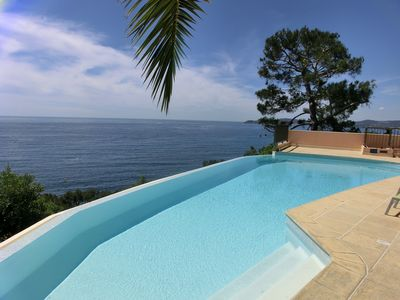 Photo for Paradise on the Côte d'Azur -- Luxury flat in exceptional setting near Monaco