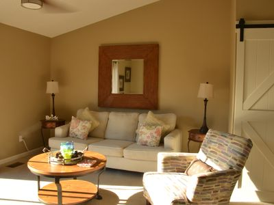 Photo for Relax at Coral Cottage on 30A--Sleeps 6--Beach Only Few Steps Across 30A