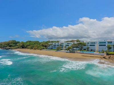 Photo for Beautiful modern beachfront condo with 3 bedrooms