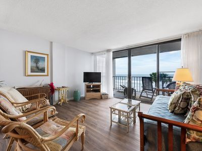 Photo for Oceanfront Condo  * Modern Kitchen * Arcadian I