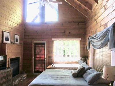 Master bedroom is truly a Peaceful Paradise