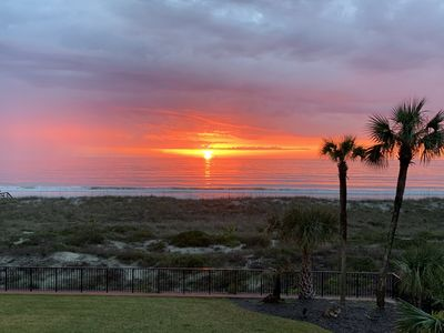 Photo for Renovated! Beachfront with Great Views, beach chairs, pool, tennis Amelia Island