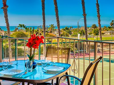 Photo for 25% OFF AUG+SEP - Ocean View Beach Condo w/ Pool, Jacuzzi & Tennis Courts