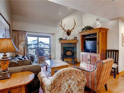Photo for Roomy Mountain Condo w/Cozy Fireplace & Private Balcony!