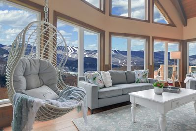 Prime Enjoy The Sunsets On Tremblants From The Lounge Sauna Or Spa Lac Superieur Andrewgaddart Wooden Chair Designs For Living Room Andrewgaddartcom