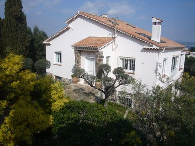 Photo for Villa Les Oliviers Saint-Aygulf view bay of St Raphael