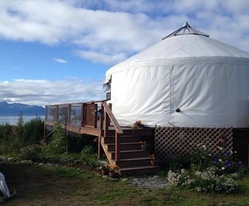 Photo for Eco-Friendly Bay View Yurt