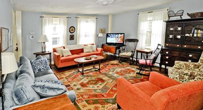 Large charming historic home on quiet street near Nantucket town center