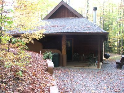 Entrance to Cabin #8