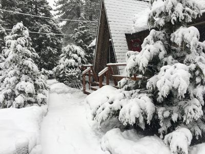 Photo for 3 Blocks from Lake Tahoe and Regan Beach, Comfortable and  Well Appointed  Cabin