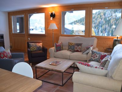 Photo for ChateauPre - Perfectly located apartment for 6 people in picturesque Grimentz