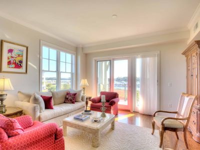 Photo for Spacious Waterfront Condo With Fabulous Views *Discounted Summer Rates*
