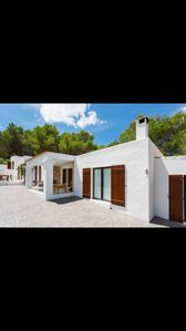 Photo for Architect country villa with pool. Stunning villa to 8 km from Ibiza city center