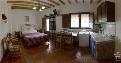 Photo for Studio with kitchen, for 2 people. Rural Apartment El Huerto de Lobras.