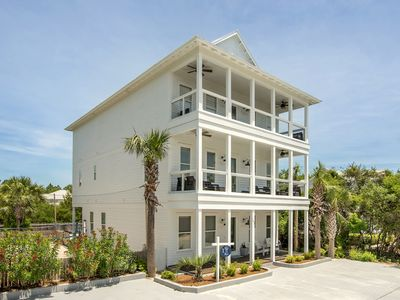 Photo for Large Rental Home In Popular Seagrove, 10 Bdrm, Private Pool, Gulf Views!!