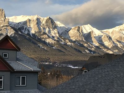 Photo for Canmore Condo for 7 -- Mountain Escape with stunning views