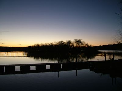 Photo for Two storey riverfront shack. Pet and family friendly.