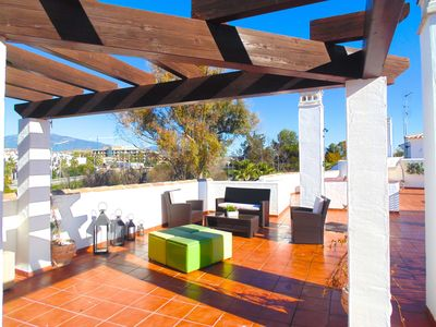 Photo for Costalita - Penthouse / 65 meters terrace / Close to the Beach