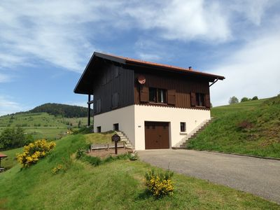 Photo for Very comfortable family chalet in the Hautes Vosges of maximum 9 people