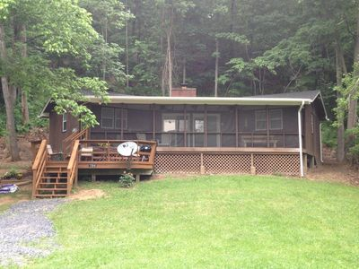 Photo for Riverfront Getaway Cabin