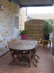 Photo for The torrent, 100 m2 house, village center, in a renovated house with 4 flats