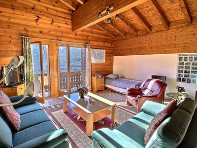 Photo for SKI-IN / SKI-OUT Les Crosets 2 bedrooms, wifi and indoor garage, located directly on the slopes (6-W