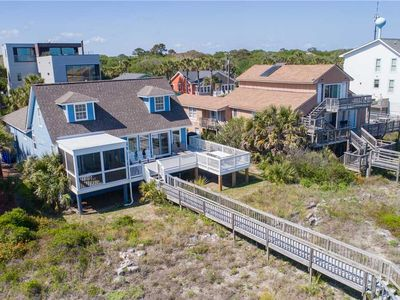 Photo for Blue Bayou - Spacious Oceanfront Home with Screened Porch and Large Deck. Newly Renovated Kitchen.