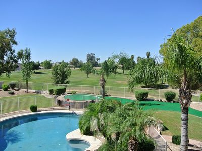Luxury Living at it's Finest with Heated Pool, Hot Tub and Putting Green