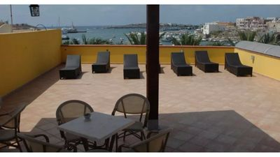 Photo for Two-room apartment on the seafront and a short walk from the center of Lampedusa