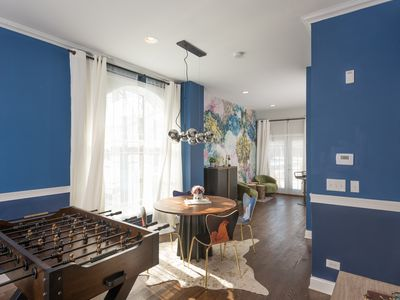Photo for Elegant Game House | Minute to Downtown Chicago | Gated Parking | Walk To Train