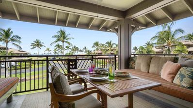 Photo for Luxury Ocean View Condo at Waikoloa Beach Resort- Includes WiFi, Private Lanai, AC, Family Friendly!