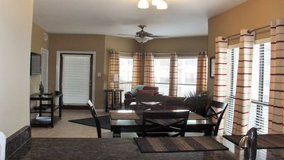 2 bedroom Condo @ Inverness, on the Comal River across from Schlitterbahn
