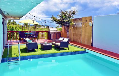 Photo for Luxury Private Pool Villa with Sapphire Beach Access