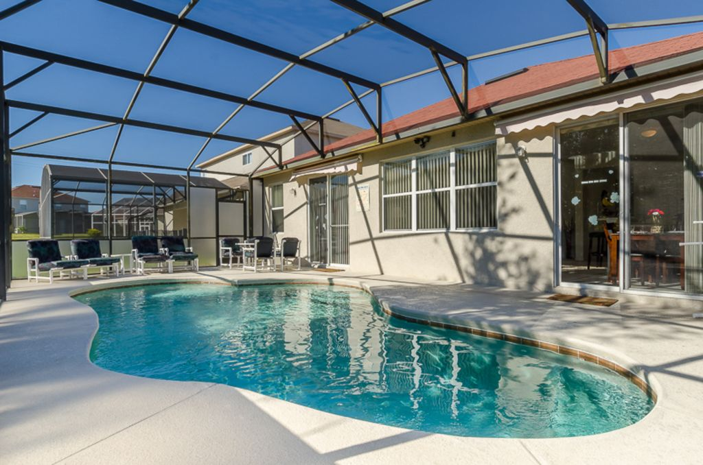 Luxury 4 Bed Villa Near Disney With South Facing Pool Reunion Central Florida Florida