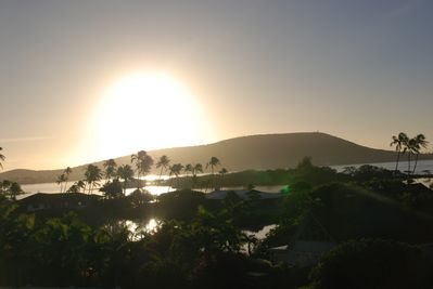 Imagine waking up to the sun rising over Hanauma Bay Ridge & Paiko Lagoon.