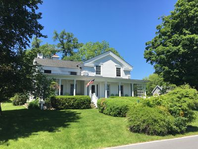 Photo for Waterfront Farmhouse On Cayuga Lake With Dock & 3 Acres Near Wineries & Colleges